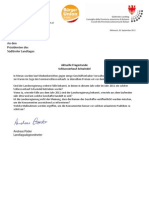 Schlussverkaufschwindel Anfrage + Antwort BürgerUnion