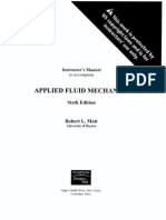 Fluid Mechanics Solution Manual