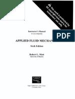 Fluid Mechanics Solution Manual