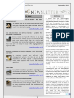 India Transport Portal Newsletter - September, 2012