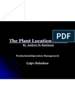 Plant Location Sunum 1