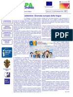 Newsletter Europe Direct Trentino