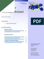 Newsletter Tirol Buero Bruxelles