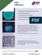 Innate Immunity Macrophage Markers - AbD Serotec