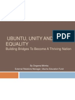 Ubuntu, Unity and Equality