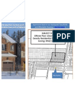 Apartments? Not in my backyard. Stouffville & Affordable Housing. Presentation to Public Hearing