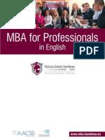 MBA Folder 2012