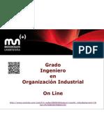 Grado Ingeniero en Organizacion Industrial