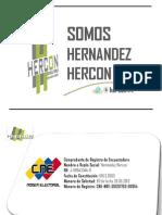 Encuesta Nacional Hernandez Hercon Septiembre 2012