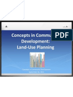 Land Use Planning Part 2 2012