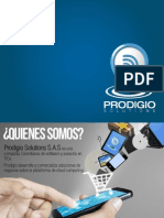 PRODIGIO SOLUTIONS