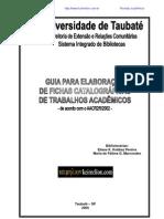 Guia Para Elaboracao de Ficha Catalografica