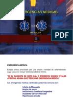 Presentación EMERGERCIAS MEDICAS