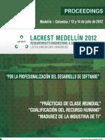 memorias LACREST 2012