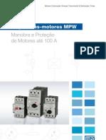 WEG Disjuntores Motores Mpw 50009822 Catalogo Portugues Br