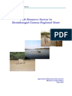 Fish Resource Survey in Benishangul-G. Region-Ethiopia