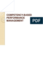 Competency Based Performance Management 1