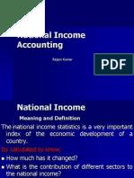 National Income AccountingUnit VI Session 21 (1)