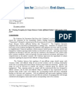 Coalition for Derivatives End-Users Letter Re