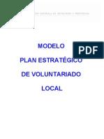 PLAN ESTRATÉGICO DE VOLUNTARIADO FEMP