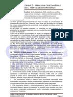 Exercícios crise do séc. XVIII Brasil