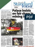 Manila Standard Today - Thursday (September 27, 2012) Issue