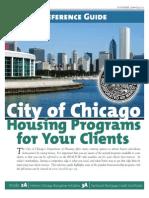 City of Chicago Housing Programs 06