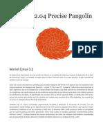 Ubuntu 12-04 Precise Pangolin