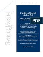 Franklin & Marshall College Poll