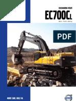 Manual de Excavadora Volvo EC700C