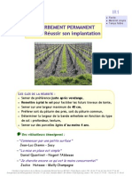 IR1 - implantation enherbement semé