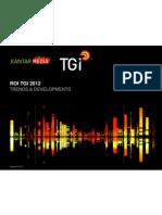 Republic of Ireland TGI Trends Charts 2012