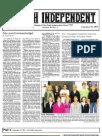 Faith Independent, September 26, 2012