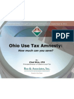 Ohio Use Tax Amnesty