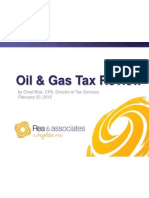 Oil and Gas Tax Review