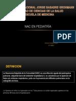 NAC en pediatría - unjbg