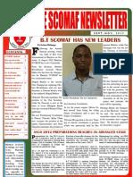 Scomaf Newsletter (Sept-nov)