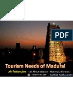 Tourism Needs of Madurai