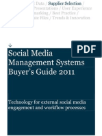 Social Media Managemement Systems Buyers Guide
