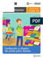 Ficha Extendida 15 Confeccion de Polos Para Damas