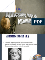Aplicatii Ale Legii Lui Arhimede
