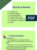 Control Sintomas Pacientes Paliativos