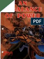 FASA Star Trek - An Imbalance of Power