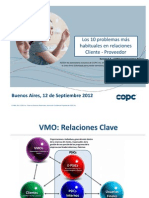 Kenwin-COPC 10 problemas más habituales en relaciones Cliente-Proveedor 12 SEP 2012