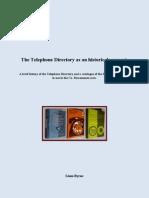 The Roscommon Telephone Directory