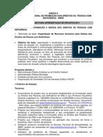 ANEXO 6 - Politicas Publicas de Promocao Dos Direitos Da Pessoa Com Deficiencia
