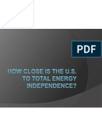 Energy Independence Ppt
