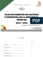 Proyecto de Lectura 12-13