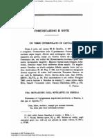 Carlo, Pascal, Un Verso Interpolato in Catullo (Tommaso Seneca)