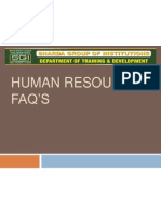 Human Resource Personal Interview Faqs